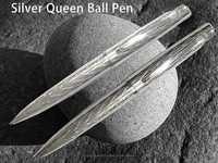 Silver Ballpoint Pen