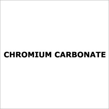 Chromium Carbonate
