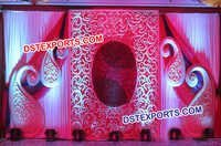 Beautiful Wedding Stage Backdrop Decorations
