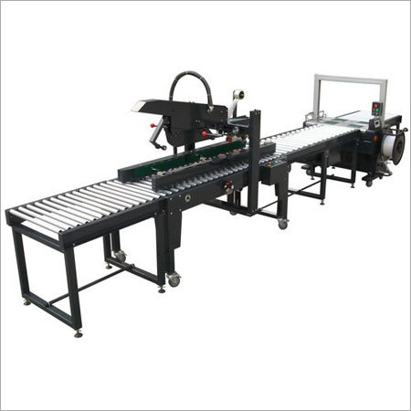 Automatic Strapping Line Machine
