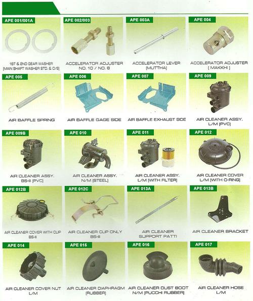 Mahindra Alfa Auto Parts