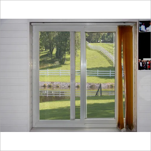 UPVC Horizontal Sliding Windows