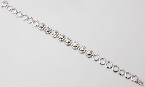 fancy two layer design bracelet