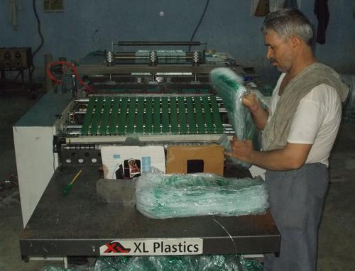 Work Area for Polythene Sheets