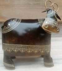 Decorative Metal Buffaloes