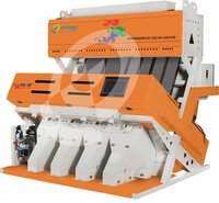 Raw Rice Color Sorting Machine