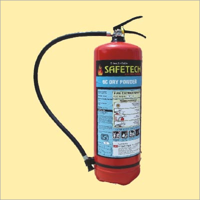 Dry Powder Type Fire Extinguishers