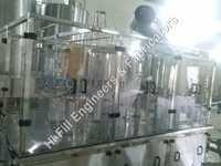 Rotary Rinser Filler Capper -24 BPM