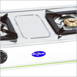 SS Two Burner Gas Stove