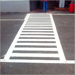 White Thermoplastic Road Marking Paint