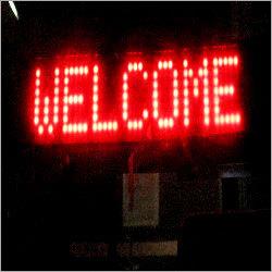 Led Welcome Signage
