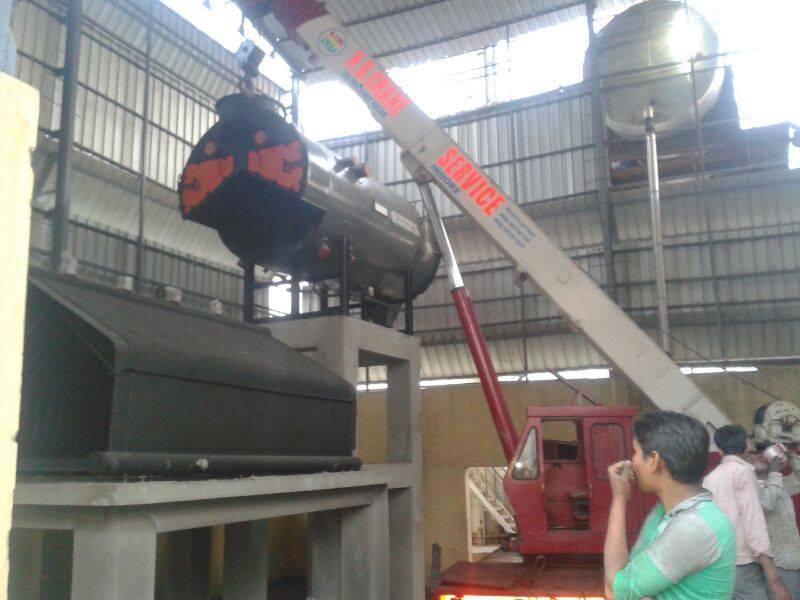 Heavy Duty Cranes Hire Service