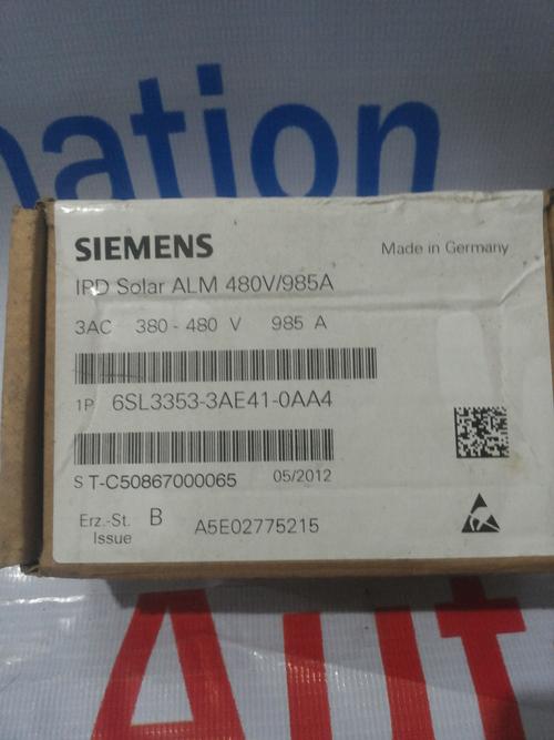 SIEMENS 1P 6SL3353-3AE41-0AA4