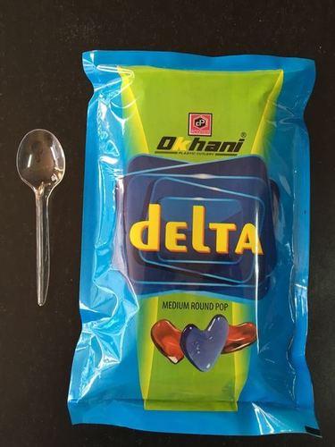 Delta-Plastic Medium Round Pop