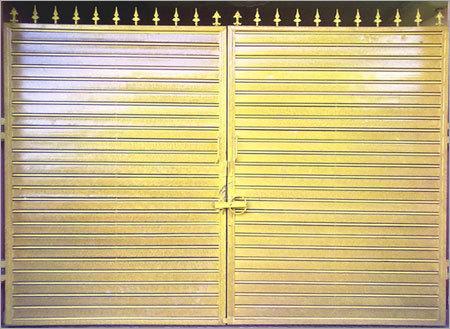 Steel Entry Gates