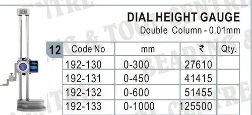 Dial Height Gage wit