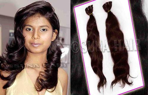 Best quality brazilian natural brown body wavy human hair
