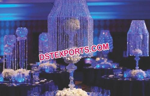 Stylish Wedding Crystal Center piece