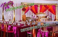 WEDDING GOLDEN THEEM STAGE 6896