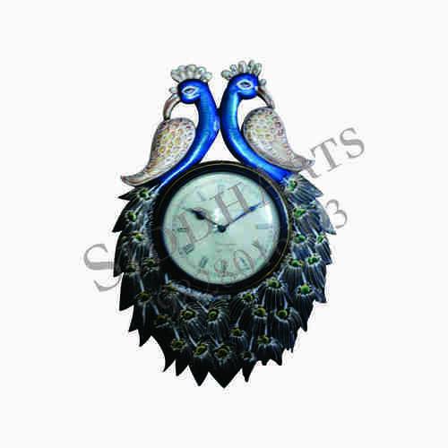 Decorative Peacock Wall Clocks