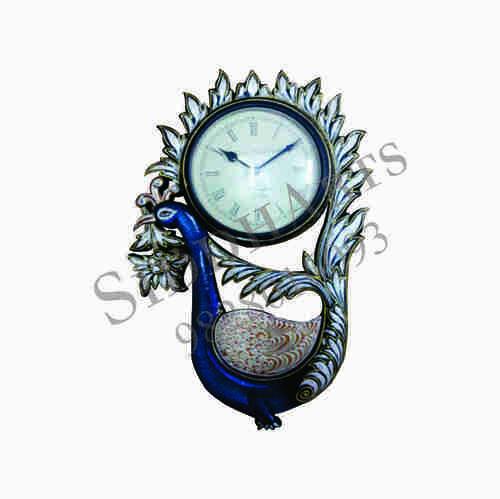 Designer Peacock Wall Clocks