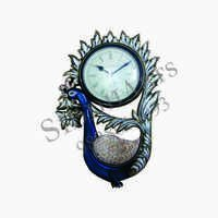 Designer Peacock Wall Clocks