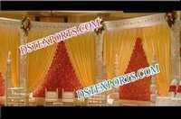 Exclusive Traditional Wedding Wooden Stage