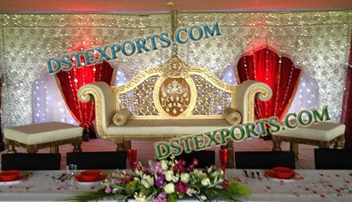 Wedding Stage Embrodried Backdrop Curtains