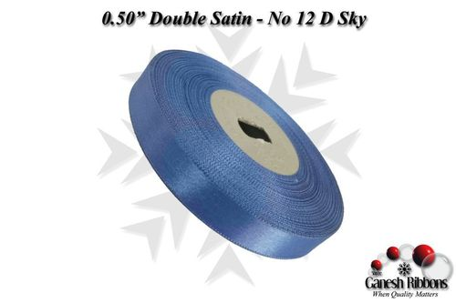Double Satin Ribbons - Dark Sky