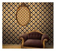 3 d black n yellow wallpaper bilal