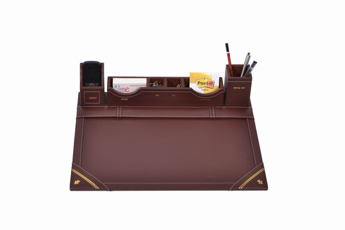 Desk Organizer,Leather Desk Organizer