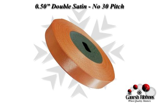 Double Satin Ribbons - Pitch