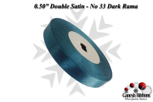 Double Satin Ribbons - Dark Rama