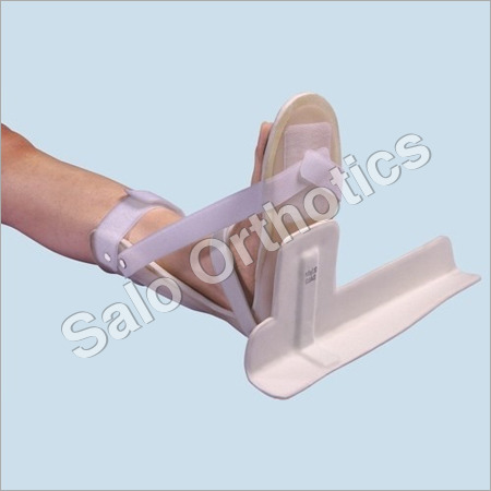 Static Foot Drop Splint With Detachable Bar