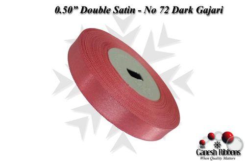 Double Satin Ribbons - Dark Gajari