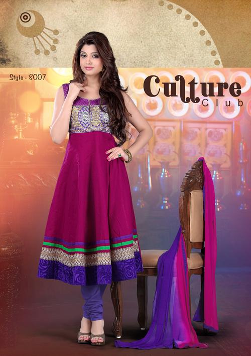 Designer Chikan Latst  Salwar Suits