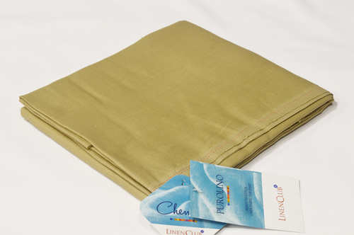 100% Linen Copper Brown Shirting Fabric