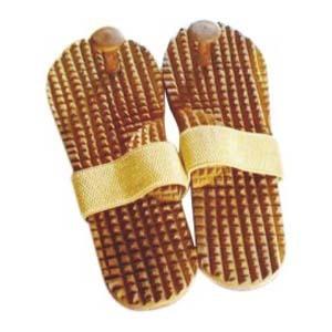 ACi Acupressure Khadau - Wooden Sandal