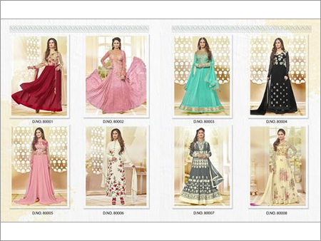 VISHNU (NAZMA) Designer Anarkali Suits Wholesale