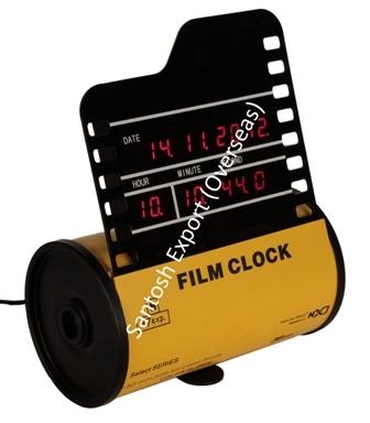 Film Digital Clock