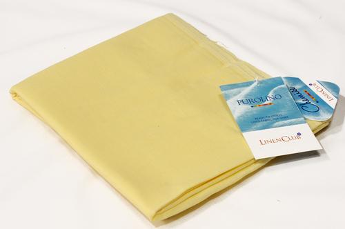 100% Linen Jasmine Yellow Shirting Fabric