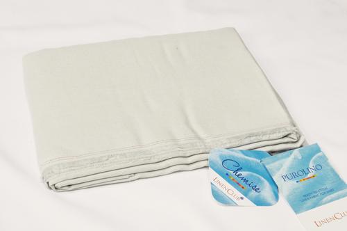 100% Linen White Shirting Fabric