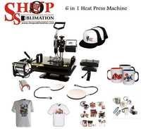 Heat Press Machine 6 in 1