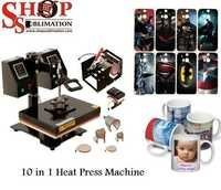 Heat Press 10 in 1 Machines