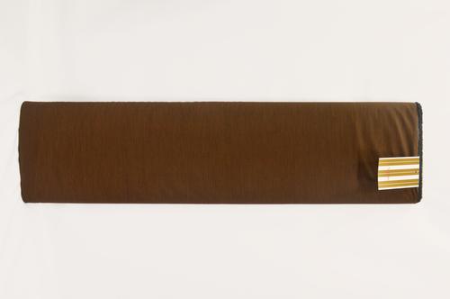 100% Cotton Brown Shirting Fabric