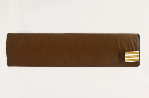 100% Cotton Brown Shirting Fabric