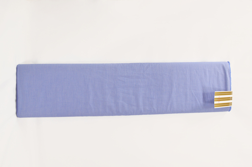 100% Cotton Blue Shirting Fabric