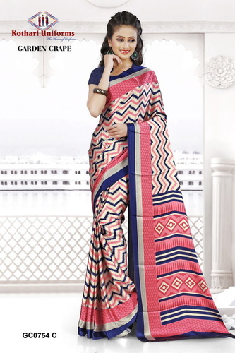 Stiff Uniform Sarees