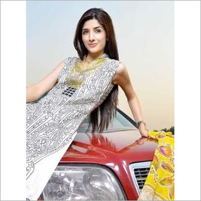 Designer Neck Pakistani Suits