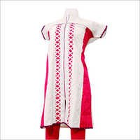 Cotton Kora Embroidery Kurti